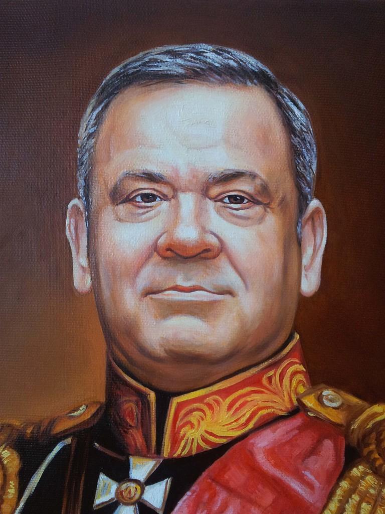 Портрет маслом на холсте в Нижнем Тагиле