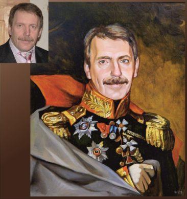 Настоящий портрет маслом на заказ в Нижнем Тагиле…