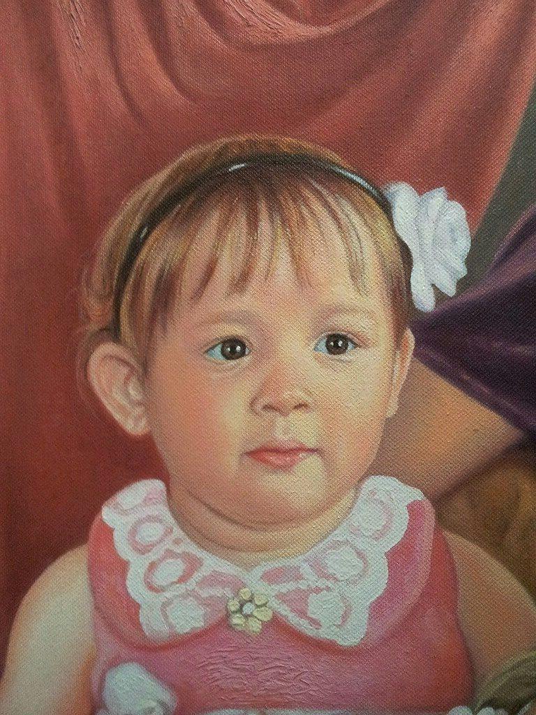Портрет маслом семейный Нижний Тагил