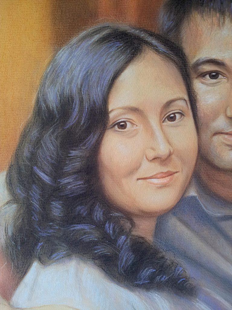 Заказ портрета по фото