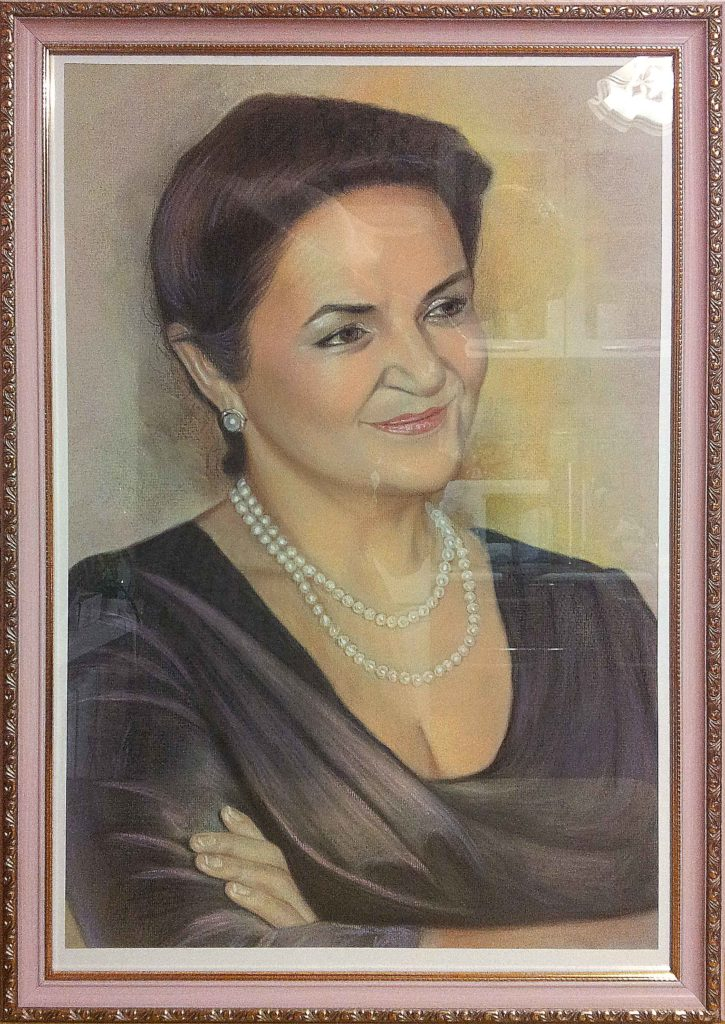Портрет пастелью коллеге