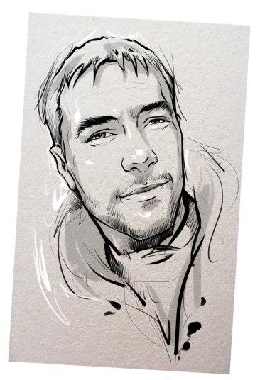 Портрет карандашом любимому мужу в Нижнем Тагиле…