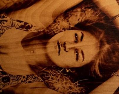 портрет на дереве на заказ в Нижнем Тагиле