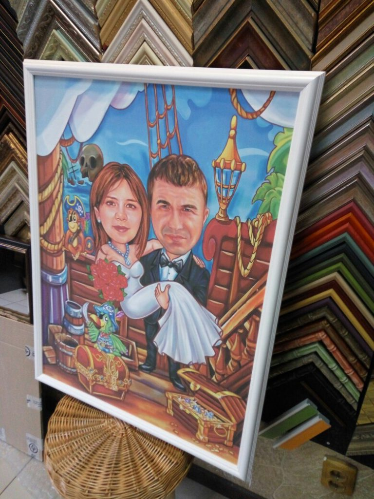 шарж по фото на заказ в Нижнем Тагиле