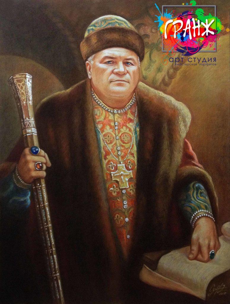 Заказать портрет маслом по фотографии в Нижнем Тагиле