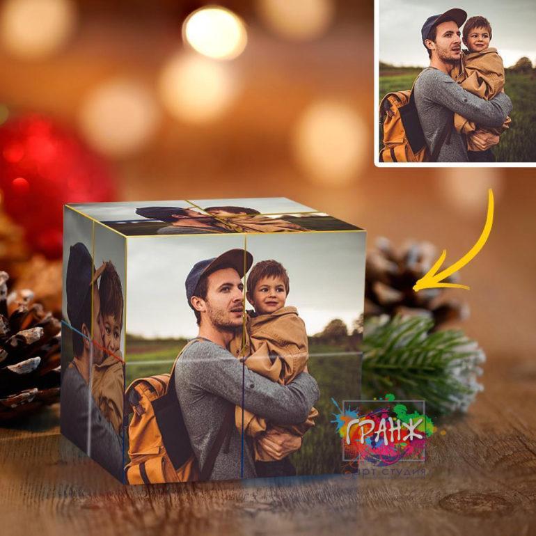 Фотокубик трансформер, купить в подарок Нижний Тагил